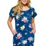 Dámská noční košile Wendy modrá
