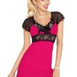 Noční košilka Paulina růžová – DKaren