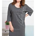 Dámská noční košile s tříčtvrtečním rukávem Hvězdy