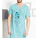 Pánská noční košile s krátkým rukávem Šimon