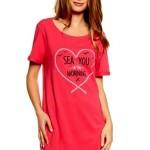 Noční košile 37102 Tayla pink