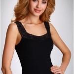Dámská spodní košilka Arietta černá