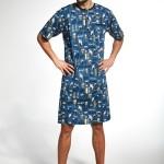 Pánská noční košile Cornette 109/625303 kr/r 3XL-5XL