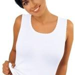 Černá dámská košilka Emili Michele S-XL