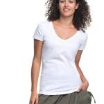 Dámká hlenka/košilka V-neck 22200