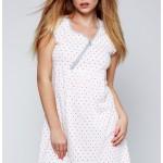 Dámská noční košilka Sabine bílá – Sensis