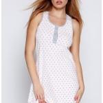 Dámská noční košilka Selena bílá – Sensis