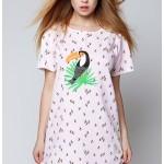 Dámská noční košilka Tukan růžová – Sensis