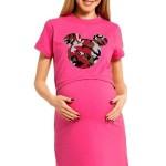 Kojící noční košile Majka růžová