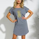 Krátká dámská noční košile PIA 2156 S-XL
