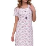 Luxusní noční košile Nina květinová