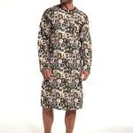 Pánská noční košile Cornette 109/643902 kr/r M-2XL