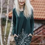 Dámské šaty – noční košile LHD 802 B19