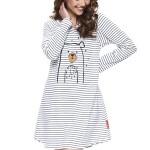 Dámská noční košile Dn-nightwear TM.9718