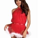 Nezbedný kostým Santastic dress – Obsessive