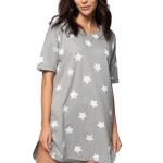 Dámská noční košile Abbie s hvězdami