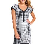 Dámská těhotenská košile TM.5038 – Dn nightwear