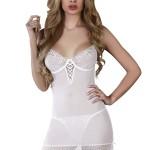 Erotická košilka Florizel white
