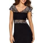 Luxusní dámská košilka Helen černá