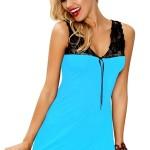 Dámská košilka Afra turquoise