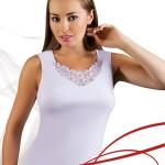 Dámská košilka Berta plus white