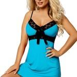 Dámská košilka Cassidy turquoise
