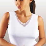 Dámská košilka Majka plus white