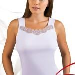 Dámská košilka Milia plus white