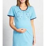 Dámská noční košile mateřská Kuřátka – Vienetta