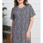 Dámská noční košile s krátkým rukávem Izabela