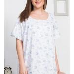 Dámská noční košile s krátkým rukávem Katka