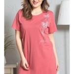 Dámská noční košile s krátkým rukávem Mirka
