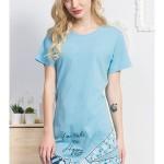 Dámská noční košile s krátkým rukávem Tenisky