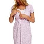 Noční košilka kojící Amber – Italian Fashion