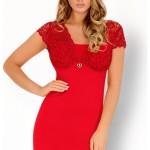 Pohodlná košilka Mishkata červená – LivCo Corsetti