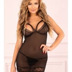Sexy košilka Makrezian černá – LivCo Corsetti