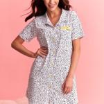 Krátká dámská noční košile 2139 DALIA S-XL