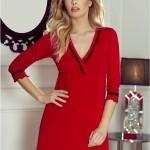 Dámská košilka Lea red