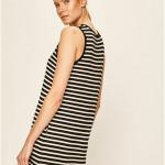 Dámská noční košile YI3322403-055 černobílá – DKNY