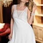 Erotická košilka Pearl ecru
