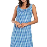 Noční košilka Kamila modrá
