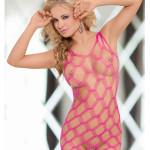 Erotické šaty Kitty neon