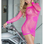 Erotické šaty Sweetheart pink