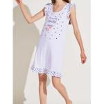 Dámská noční košile LA2140PB bílá – Noidinotte