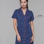 Rozepínaná dámská noční košile 21501