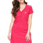Dámská bavlněná noční košile Lor růžová