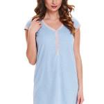Dámská noční košile Diti světle modrá
