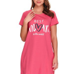 Kojicí noční košile Best mom 2 růžová