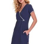 Noční košile Heidi modrá bavlna organic