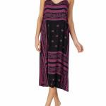 Noční košilka YI2622407-002 fialovočerná – DKNY